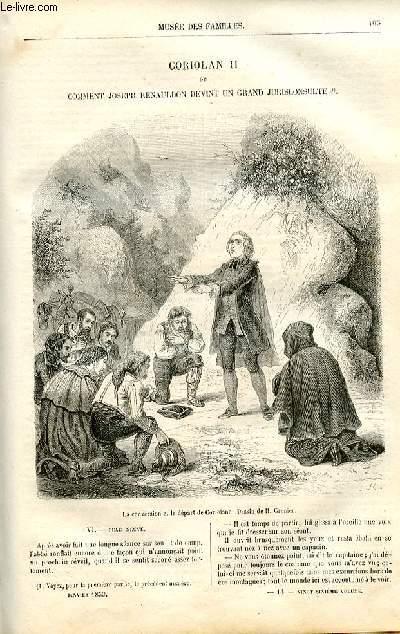 Le musée des familles - lecture du soir -  livraison n°14 - Coriolan Ii ou Comment Joseph Renauldon devint un grand jurisconsulte