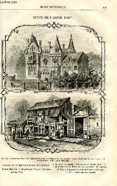 Le musée des familles - lecture du soir -  livraisons n°15 et 16 - Revue de l'année 1859 par Pitre Chevalier,suite.