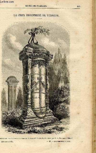 Le musée des familles - lecture du soir -  livraisons n°45 et 46 - La croix Hosannière de Verneuil par Pitre Chevalier.