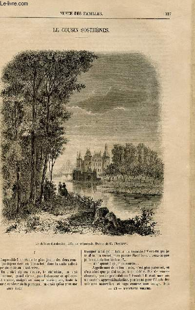 Le musée des familles - lecture du soir -  livraisons n°43 et 44 - Le cousin Sosthènes par Charles Deslys,à suivre.