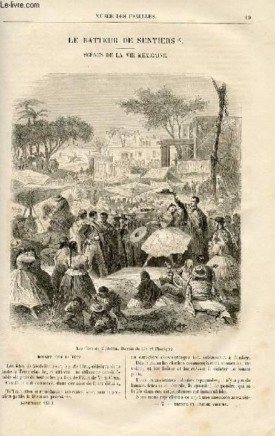 Le musée des familles - lecture du soir -  livraison n°07 - Le batteur de sentiers - scènes dela vie mexicaine par Aimard,suite.