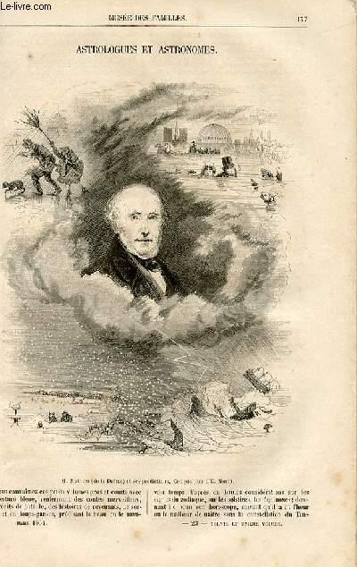 Le musée des familles - lecture du soir -  livraisons n°23 et 24 - Astrologues et astronomes par Ernest Menault.