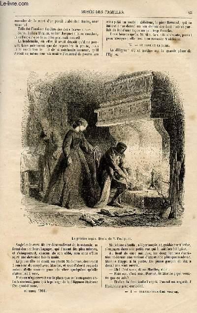 Le musée des familles - lecture du soir -  livraison n°04 - L'usurier des Arcis,Suite  par Ch. Wallut,à suivre.