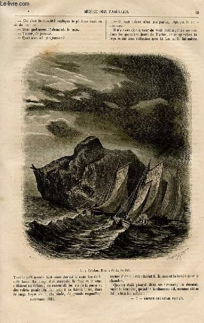 Le musée des familles - lecture du soir -  livraisons n°07 et 08 - Le comte de Chanteleine, épisode de la révolution par Jules Verne, suite.