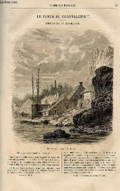 Le musée des familles - lecture du soir -  livraison n°10 et 11  - Le comte de Chanteleine, épisode de la révolution par Jules Verne, suite et fin.