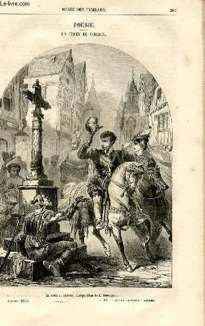 Le musée des familles - lecture du soir -  livraison n°39 - Poésie - La croix du chemin,poème apr Ch. raymond (une seule livraison).