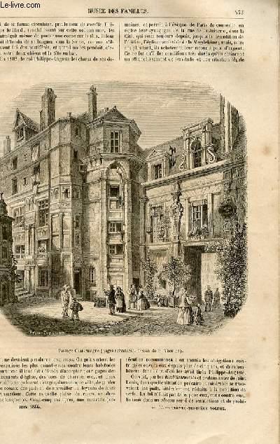 Le musée des familles - lecture du soir -  livraisons n°35 et 36 - Promenades dans l'ancien Paris - La rue des Juifs par Fournel ,suite et fin.
