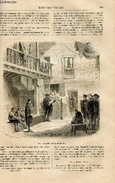 Le musée des familles - lecture du soir -  livraison n°24 - De Paris à MAdrid, notes d'un touriste par Fournel ,suite et fin.