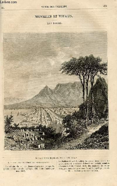 Le musée des familles - lecture du soir -  livraisons n°33 et 34 - Nouvelles et voyages - les Boers par A. De Bréhat.