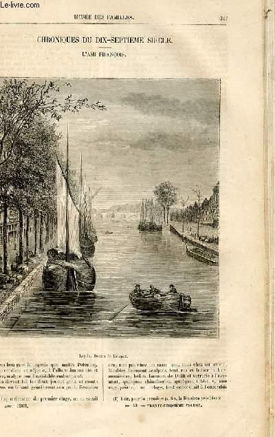 Le musée des familles - lecture du soir -  livraisons n°43 et 44 - Chroniques du 17ème siècle - L'ami François,suite.