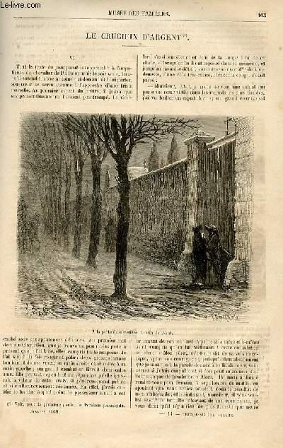 Le musée des familles - lecture du soir -  livraisons n°14 et 15 - Le crucifix d'argent ,suite et fin par Jules Janin.