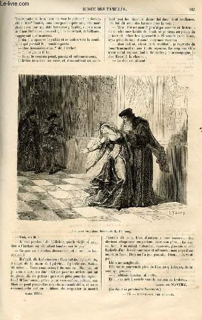 Le musée des familles - lecture du soir -  livraison n°24 - La main morte par Raoul de Navery,suite.