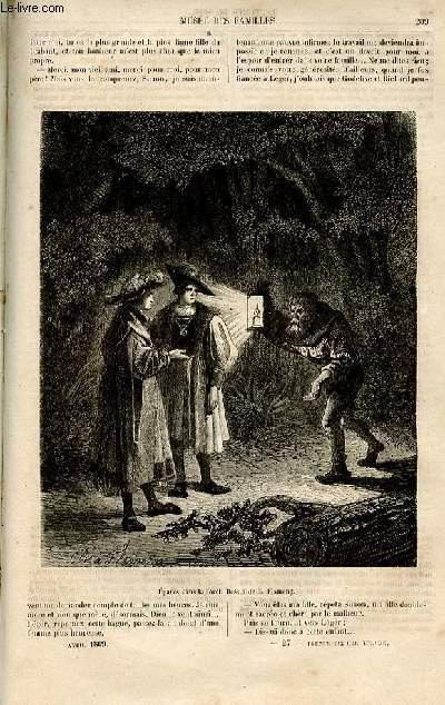 Le musée des familles - lecture du soir -  livraisons n°27 et 28 -  Chronique du Brabant  - la main morte par De NAvery,suite.