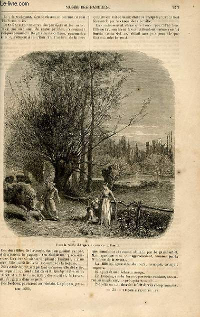 Le musée des familles - lecture du soir -  livraisons n°35 et 36 - Nouvelles - L'ombre du général ,suite et fin par Deslys.