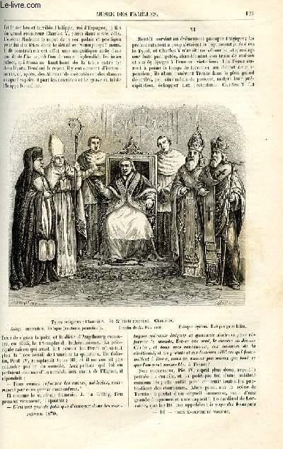 Le musée des familles - lecture du soir -  livraison n°16 - Etudes religieuses les conciles oecuméniques,suite et fin.
