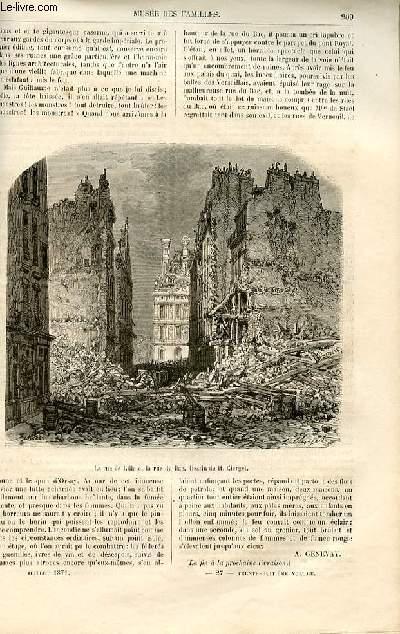 Le musée des familles - lecture du soir -  livraisons n°27 et 28 - La guerre civile - les ruines ,suite.