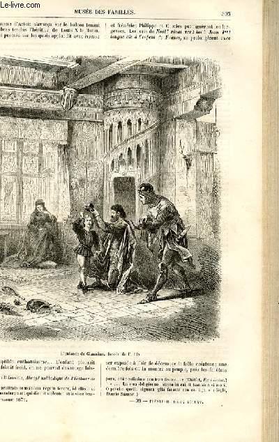 Le musée des familles - lecture du soir -  livraison n°39  - Chroniques du Moyen Age - Giannino, roi de France, suite par De Navery.