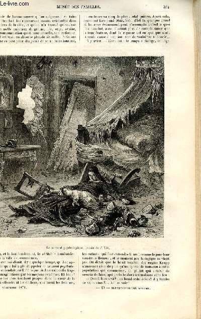 Le musée des familles - lecture du soir -  livraisons n°43 et 44 - Les mémoires d'un franc-tireur,suite.
