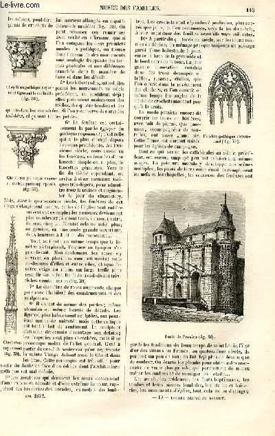 Le musée des familles - lecture du soir -  livraison n°19 - La science en famille - L'âge d'un monument,suite.