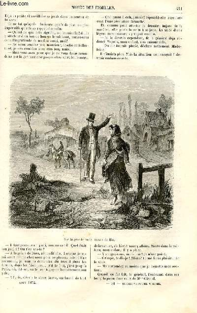 Le musée des familles - lecture du soir -  livraisons n°31 et 32 - Nouvelles - la générale par Ch. Deslys,suite.