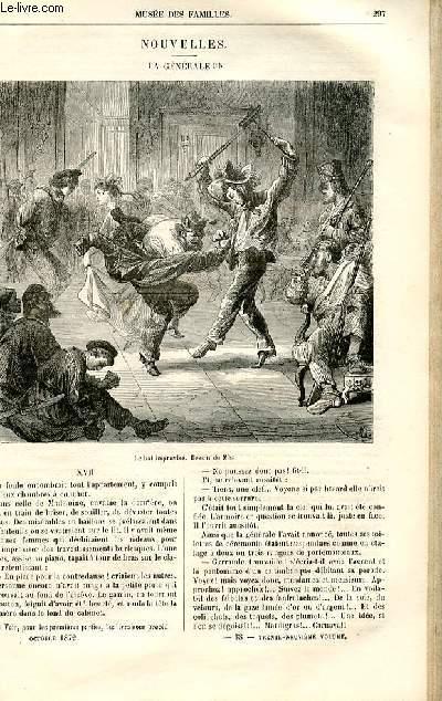 Le musée des familles - lecture du soir -  livraisons n°38 et 39 - Nouvelles - La générale par Deslys,suite et fin.