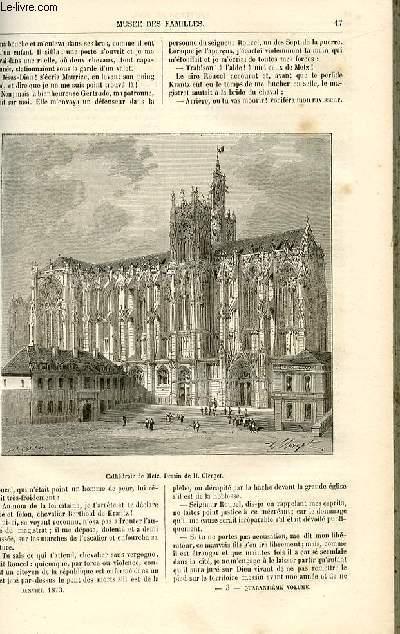 Le musée des familles - lecture du soir -  livraisons n°03 et 04 - Etudes historiques - harelle, le boulanger de Metz par A. Linden,suite.