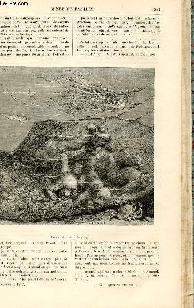 Le musée des familles - lecture du soir -  livraisons n°43 et 44 - Sous les eaux par De La Blanchère,suite et fin.