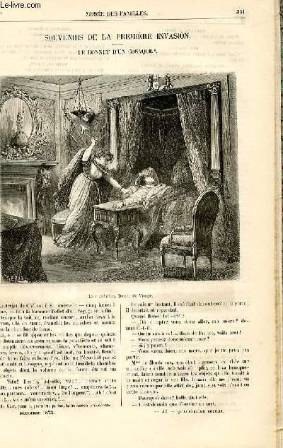 Le musée des familles - lecture du soir -  livraisons n°46 et 47 - Souvenirs de la première invasion - le bonnet d'un cosaque,suite et fin par Célières.