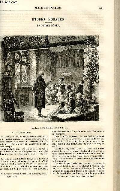 Le musée des familles - lecture du soir -  livraisons n°30 et 31 - Etudes morales - La petite mère par Deslys,suite et fin.