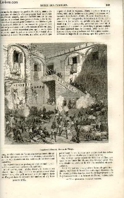 Le musée des familles - lecture du soir -  livraisons n°27 et 28 - Voyage au Dahomey - la régénératrice des cheveux,suite par Dubarry.
