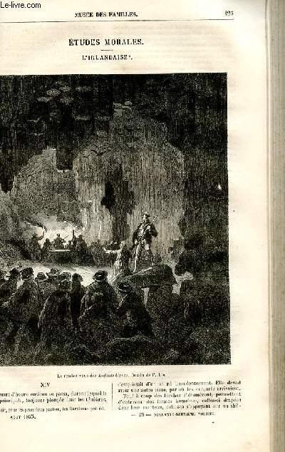 Le musée des familles - lecture du soir -  livraisons n°29 et 30 - Etudes morales - L'Irlandaise par Deslys,suite et fin.