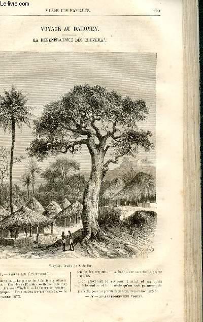 Le musée des familles - lecture du soir -  livraisons n°37 et 38 - Voyage au Dahomey - La régénératrice des cheveux par Dubarry,suite.