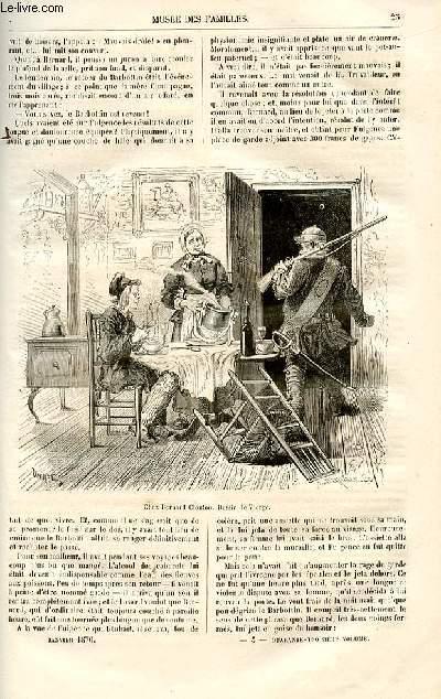Le musée des familles - lecture du soir -  livraison n°04 - Nouvelles - La mère Champagne  par Paul Célières,suite.