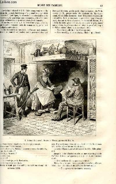 Le musée des familles - lecture du soir -  livraisons n°07 et 08 - Nouvelles - La mère Champagne  par Paul Célières,suite et fin.