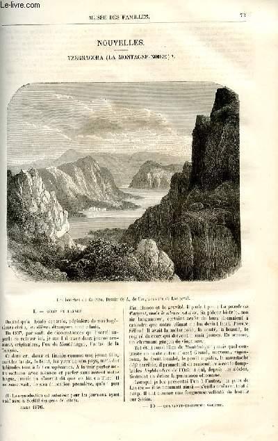 Le musée des familles - lecture du soir -  livraisons n°10,11 et 12 - Nouvelles - Tzernagora (la Montagne Noire par Deslys,à suivre.