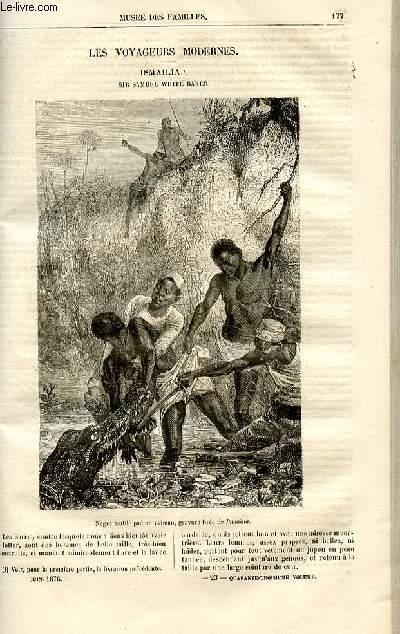 Le musée des familles - lecture du soir -  livraisons n°23 et 24 - Les voyageurs modernes - Ismailia - Sir Samuel White Baker par A. De Fleury,suite.