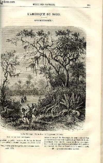 Le musée des familles - lecture du soir -  livraisons n°29 et 30 - L'Amérique du Nord - l'Okeechobee par H.De La Blanchère,suite.