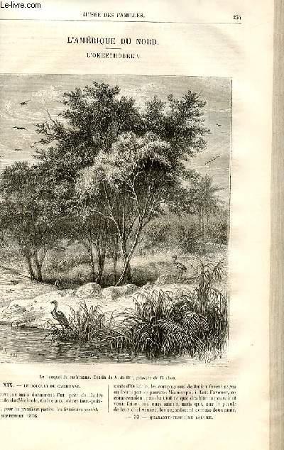 Le musée des familles - lecture du soir -  livraisons n°33 et 34 - L'Amérique du Nord - l'Okeechobee par H.De La Blanchère,suite et fin.