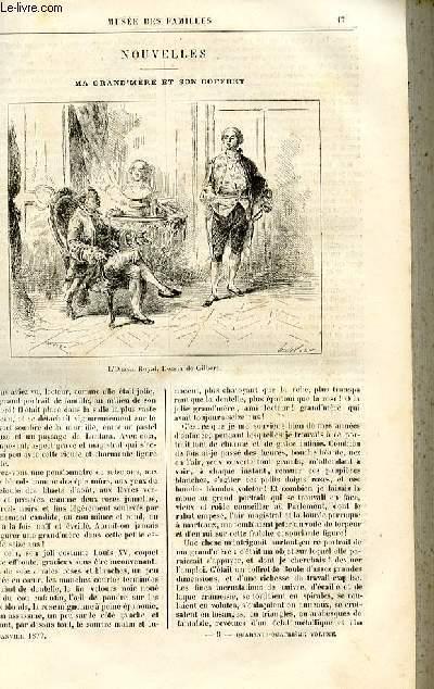 Le musée des familles - lecture du soir -  livraison n°03 - Nouvelles - Ma grand'mère et son coffret par Etienne MArcel,à suivre.