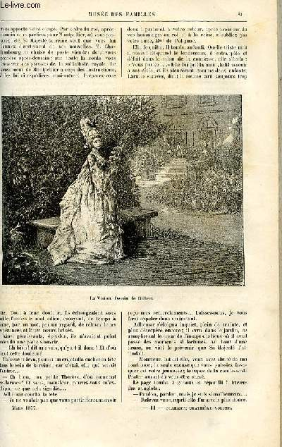 Le musée des familles - lecture du soir -  livraisons n°11 et 12 - Les pages de S.M. Louis XVI - Adhémar de Rochenoire par A. Genevay,suite et fin.