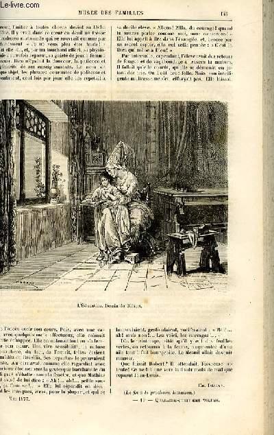 Le musée des familles - lecture du soir -  livraisons n°19 et 20- Récits historiques - La petite reine par Deslys,suite.