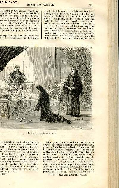 Le musée des familles - lecture du soir -  livraisons n°38 et 39 - Récits historiques - Gertrude de Wart par De Navery,suite et fin.