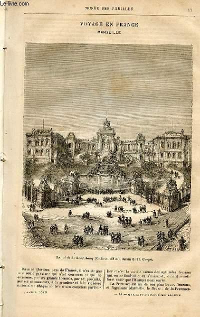Le musée des familles - lecture du soir -  livraison n°13 - Voyage en France - Marseille par S.A.