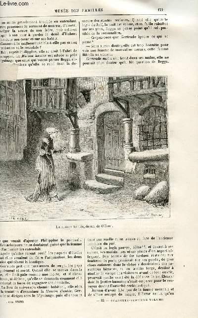 Le musée des familles - lecture du soir -  livraisons n°23 et 24 - Récits historiques - Le serment de la veuve par R. De Navery,suite.