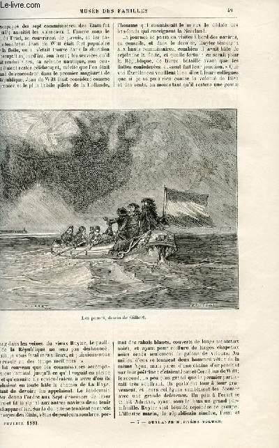 Le musée des familles - lecture du soir -  livraisons n°07 et 08 - Les révolutions d'autrefois - Les deux martyrs par A. Genevay,suite.