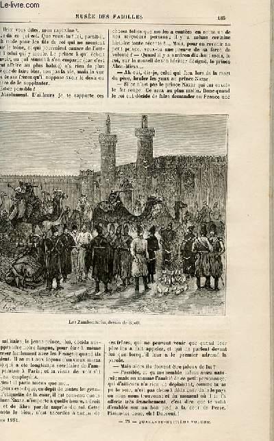 Le musée des familles - lecture du soir -  livraison n°24 -  Voyages et aventures - Le prince du feu (histoire persane),suite.