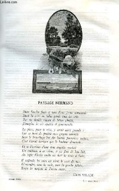 Le musée des familles - lecture du soir -  livraison n°04 PAYSAGE NORMAND