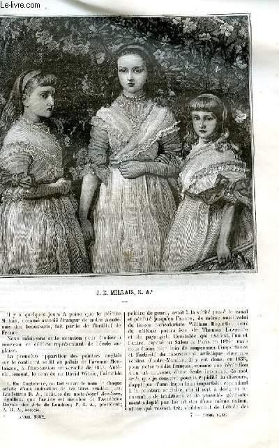 Le musée des familles - lecture du soir -  livraison n°07, 08  J. E. MILLAIS, R. A.