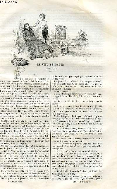 Le musée des familles - lecture du soir -  livraison n°23 - 24 LE VOEU DE NADIA