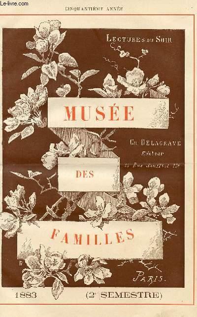 Le musée des familles - lecture du soir -  livraison n°01 à 24 SECOND SEMESTRE